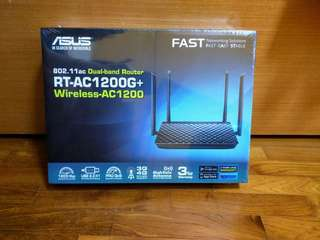 Asus RT-AC12000G+ dual band router (BNIB)