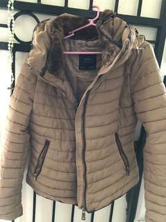 Zara bubble winter jacket