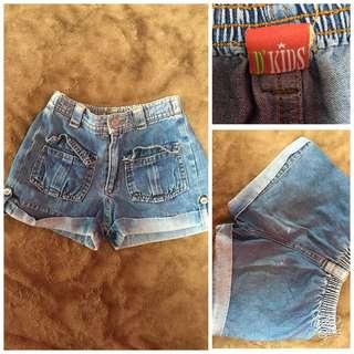 baby girl maong shorts