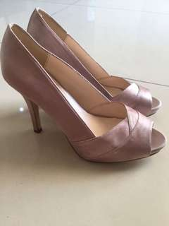 VNC woman shoes in dust pink