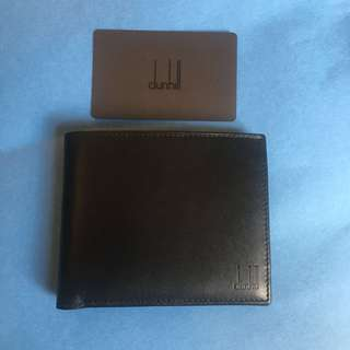 Dunhill Wallet 正品 男裝Dunhill 黑色銀包