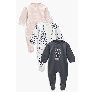 Sleepsuit 3pcs & Headband