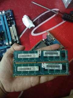Jual 1 Set (Case,PSU,RAM 2x2GB + Free Mobo Asus dan Ram DDR 2 512mb)