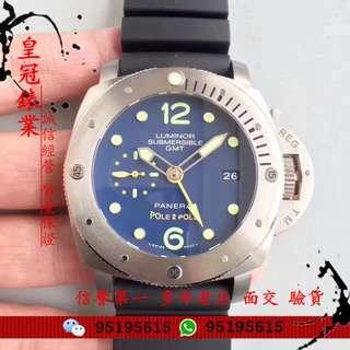 面交 新款 Panerai 沛納海 Pam00719 Pam 719  47mm 蓝面  自動機械手錶