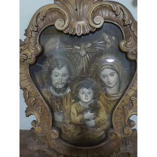 Religious Item - Holy Family Frame