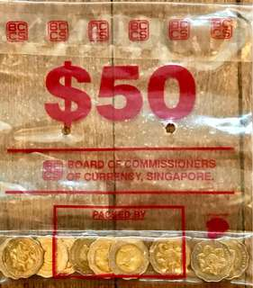 Rare Singapore $5 coins