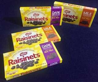 NESTLE RAISINETS MILK/ DARK CHOCOLATE