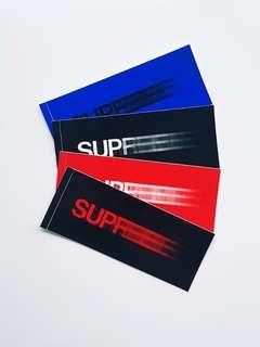 Supreme Motion Stickers