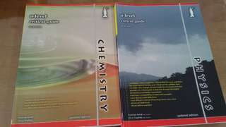 A level Chemistry and Physics guidebooks