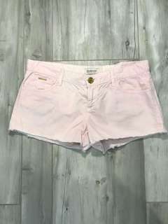 Stradivarius Pink Denim Shorts