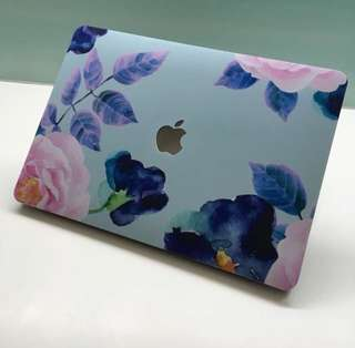 "MacBook Pro 13"" no touch bar Slick Case Floral Paradise"