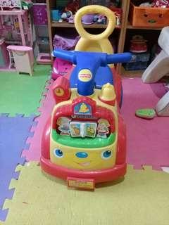 Kiddie musical car