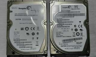 laptop hard disk Seagate 500gb
