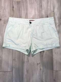 EDC Mint Green Denim Shorts