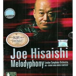 Joe Hisaishi Melodyphony London Symphony Orchestra DVD
