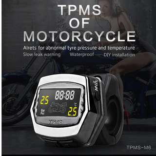 TPMS for Motorcycle (External Sensor)