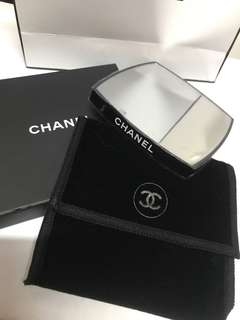 Chanel double side pocket mirror