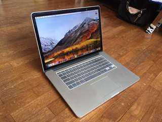 """15"""" Macbook pro i7 mid 2012 retina"""
