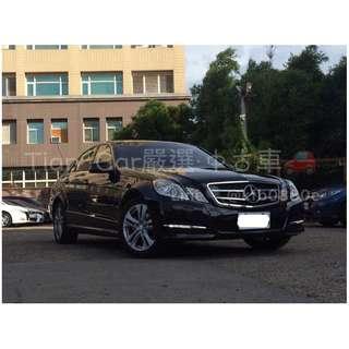Benz 賓士 E200 1.8cc 總代理//全額貸 低利率 低月付 歡迎預約賞車👏