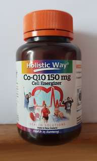 Holistic Way - Co-Q10 150mg Vegetarian Capsule s