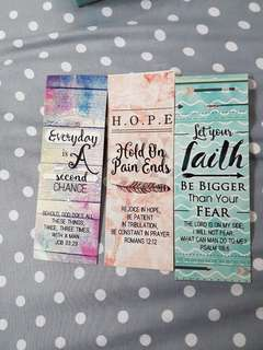 Bookmarks bible verse