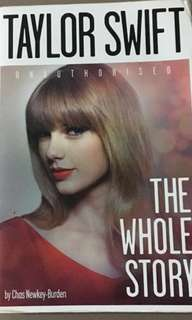 Taylor Swift | The Whole Story by Chas Newley-Burden