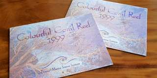 Vintage New  sealed 1999 Calendars of Coral Reef by The Lee Foundation and NUS (National University of Singapore)