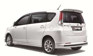 Perodua Alza ZV Advanced Facelift 1.5cc (A) for rent / Daily / Weekly / Monthly / Grab / MyCar / E-Hailing