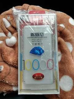 HANG 10000mAh (T17)雙輸出經典卡夢紋露營燈行動電源(附贈掛繩)