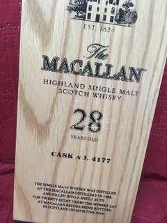 Macallan 28