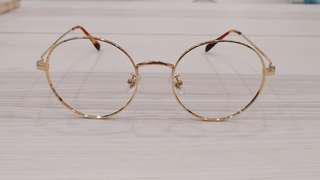 Korean Inspired Round Metal Frames FM1000001