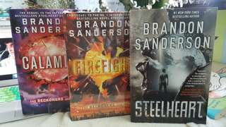 Brandon Sanderson's The Reckoners Trilogy