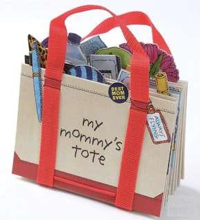 My Mommy's tote 媽媽的手提袋x立體操作書