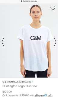 BNWT C&M top size S
