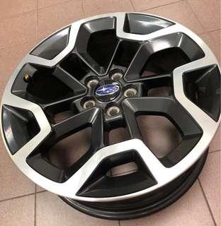 Subaru XV 17inch Wheel x 4pcs