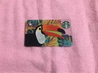 🇭🇰 Starbucks Hong Kong Card Toucan Mini