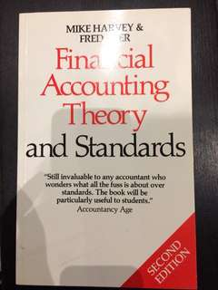 Accounting- Financial accounting theory and standards