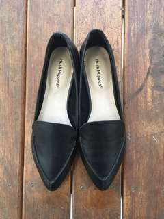 Brand new leather flats