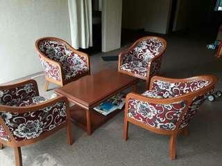 4seater sofa set
