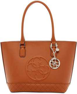 Guess Korry Classic Tote Bag in Brown