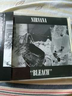 Rock CD - Rare Japan Press Nirvana Bleach