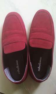 Bologna Suede Loafer Burgundy