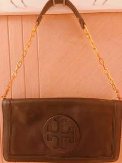 Tory Burch handbag and clutch (two-way bag)