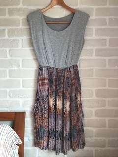 民族風裙擺洋裝