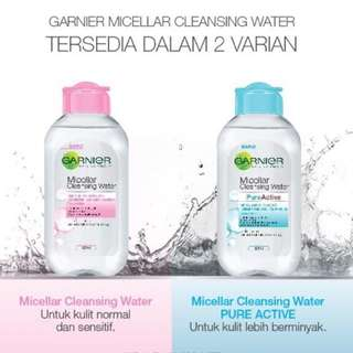 Garnier micellar cleansing