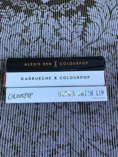Colourpop lipstick bundle