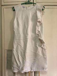 White Mango dress (with slight discoloration)