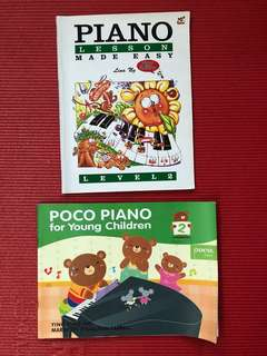Piano Made Easy Level 2 and Poco Music for Young Children Book 2