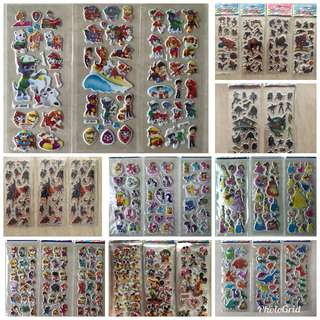 Sticker for Boys and Girls (20+ Designs) Buy 10 get 1 Free