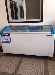 Fujidenzo Double Door Dual Function Freezer & Chiller
